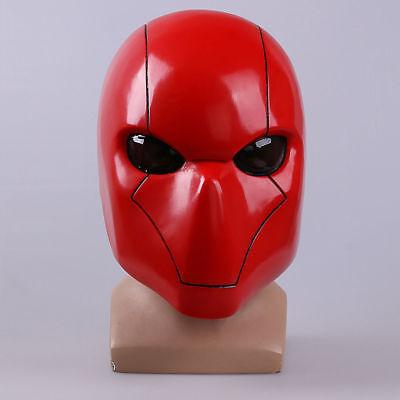 Deathstroke Red Hood Batman Style Halloween Cosplay Mask Full Head PVC Helmet (Deathstroke Mask Halloween)