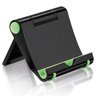 deleyCON Universal Tablet Ständer Winkel verstellbar für iPad/Galaxy Tab Schwarz