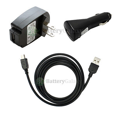 Car+AC Charger+USB Accessory Cable Cord For GPS TomTom One XL XL-S XLS 900+SOLD