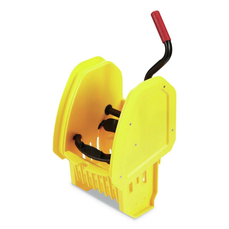 Rubbermaid Commercial 2064959 WaveBrake 2.0 Down-Press Wringer - Yellow New