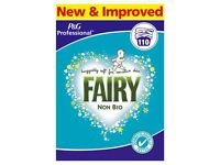 Fairy Non Bio Washing Powder Approx 110 Washes - New and Sealed