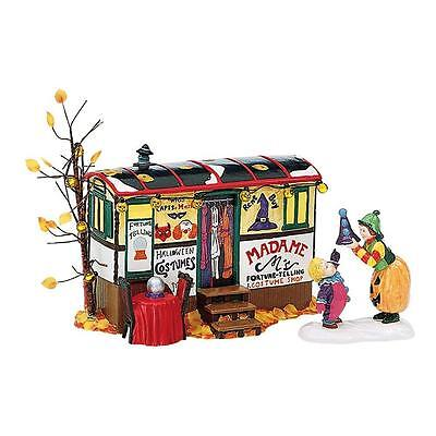 DEPARTMENT 56 LIGHTED COSTUMES FOR SALE SNOW VILLAGE HALLOWEEN 2PC SET 54973 MIB