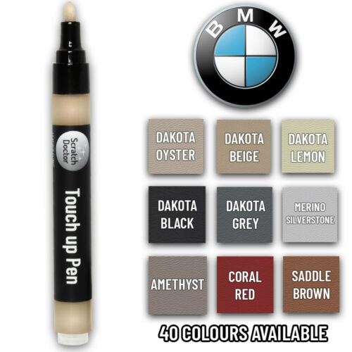 BMW Leather TOUCH UP Pen. Dye Stain Pigment Paint Colour Repair ALL COLOURS