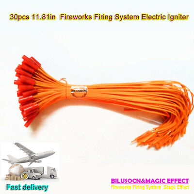 Electric Igniter Match 11.81in Fireworks Igniter 30pcs/lot For firing system