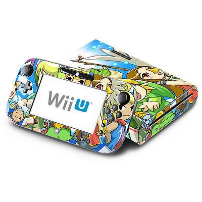 - Zelda The Wind Walker - Nintendo Wii U & GamePad Skin Decal Sticker Vinyl Wrap
