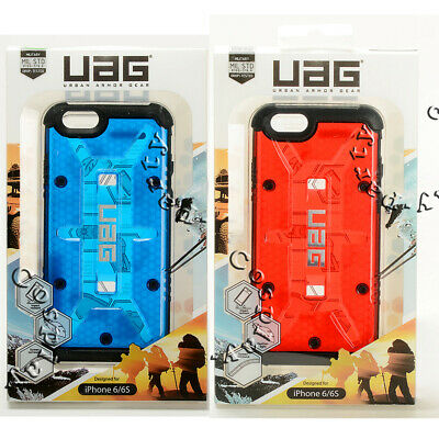 UAG Composite iPhone 6 / iPhone 6s Hard Snap Cover Case - Red Black Clear Blue ()
