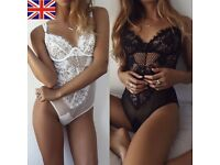 Women Lingerie Lace Body Black/White ***Valentines Day***