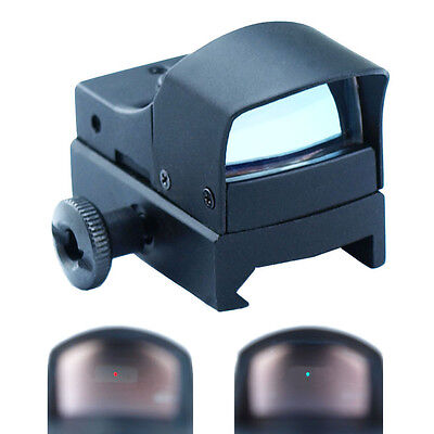 Mini Holographic Reflex Micro 3 Moa Green   Red Dual Illuminated Dot Sight