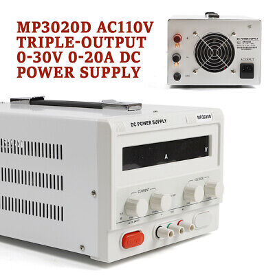 Adjustable Dc Lab Regulated Power Supply 0-30v 0-20a Variable Bench Power Supply