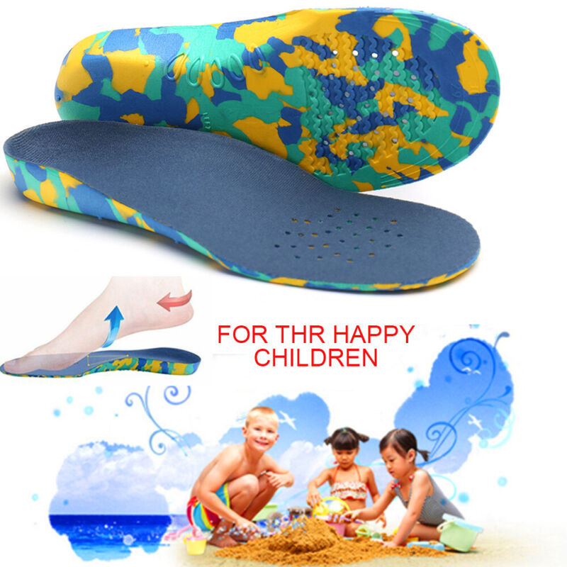 Kids Children Shoe Insoles Flat Feet Arch Support Orthotic O