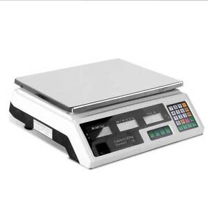 Kitchen Scale Electronic 40kg Platform Chargeable Battery Operation Kings Beach Caloundra Area Preview