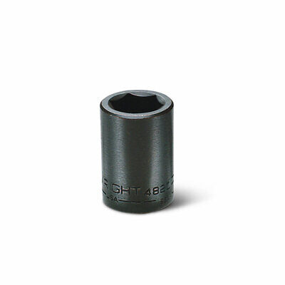 Wright Tool 4822 12 Drive 6 Points Standard Impact Socket