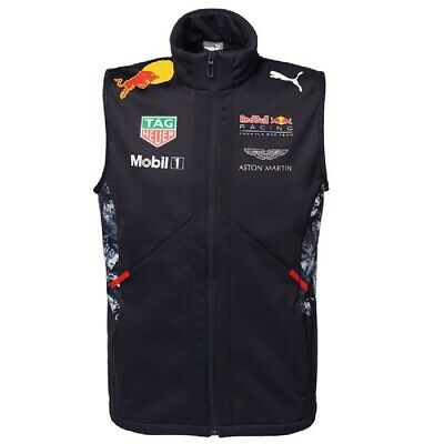 GILET Bodywarmer Vest Red Bull Racing Formula One 1 Team 2017 PUMA F1 NEW! XXL