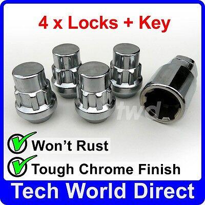 98-06 Chrome Wheel Bolt Nut Covers GEN2 21mm For Kia Sedona Mk1