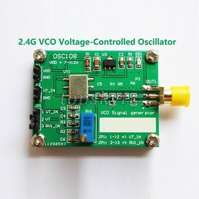 2.4g Rf Microwave Voltage Controlled Oscillator Rf Vco Signal Generator Source