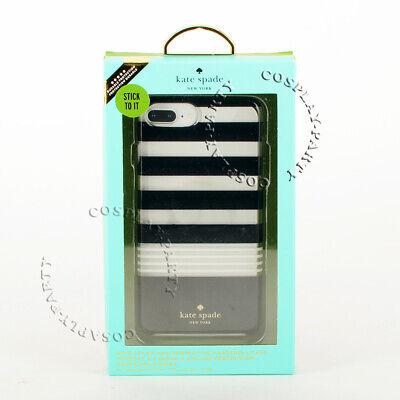 Kate Spade iPhone 6 Plus & iPhone 6s Plus Snap Case - Black/White Stripe Used