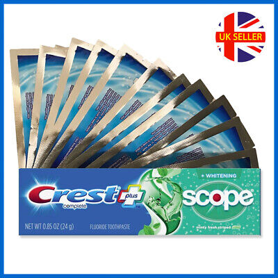 28 WHITE ADVANCED TEETH WHITENING STRIPS + 3D TOOTHPASTE 2 WEEKS SUPPLY