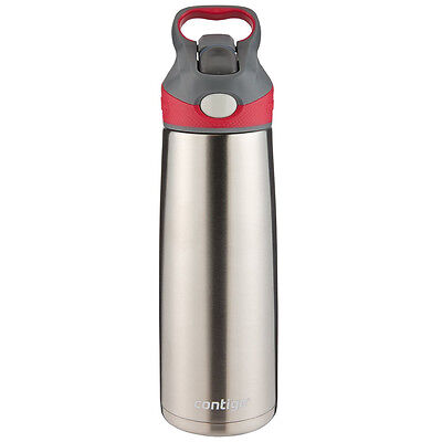 Contigo 20  oz. Sheffield Autospout Stainless Steel Water Bottle - Sangria