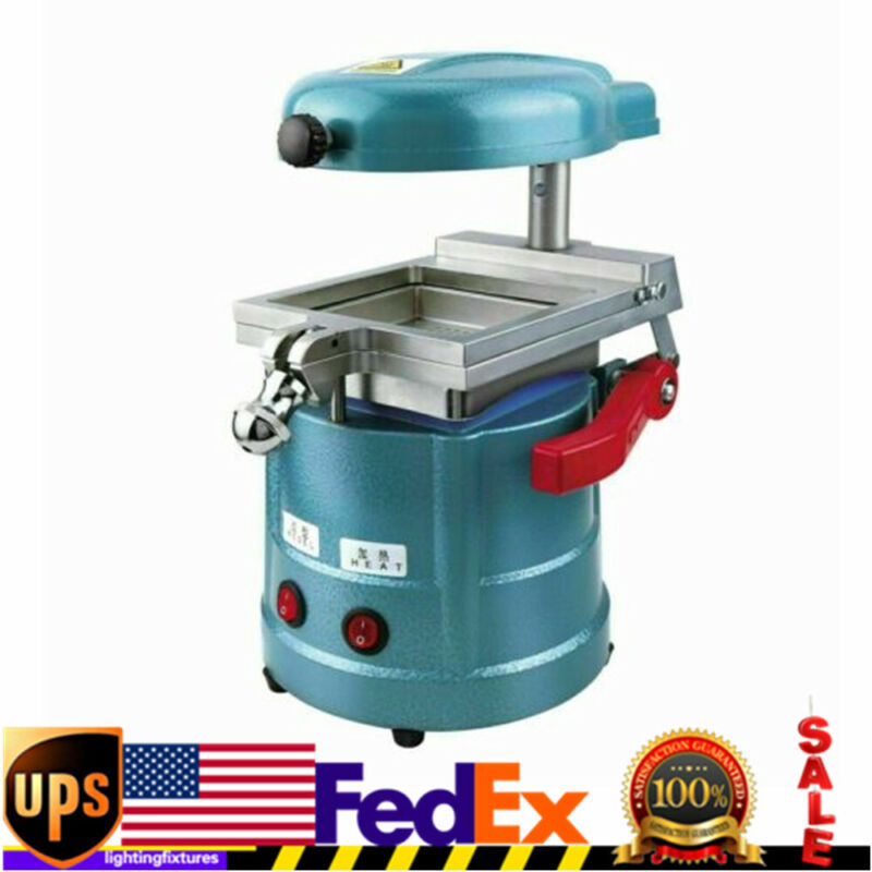 Dental Vacuum Forming Molding Machine Former Heat Thermoforming Lab Device USA