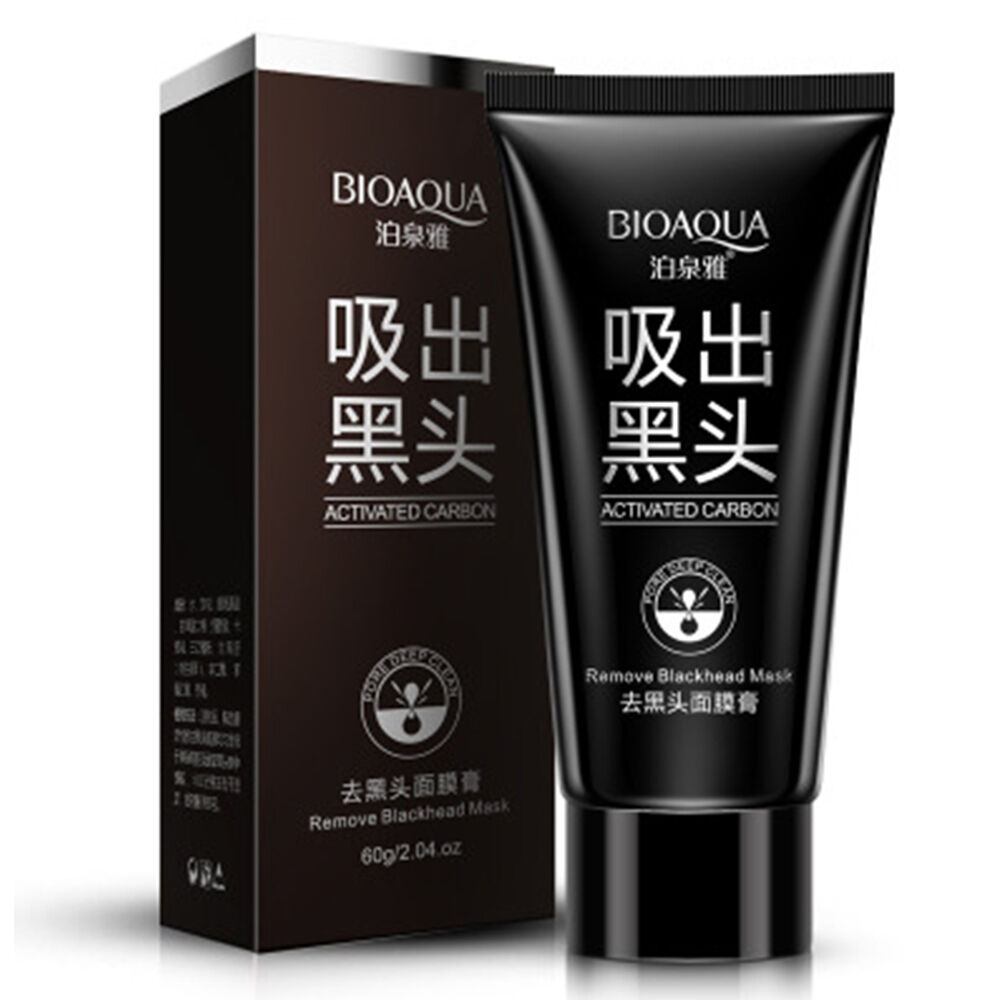 Изображение товара BIOAQUA Black Mud Face Mask Blackhead Remover Deep Cleansing Peel Acne Treatment