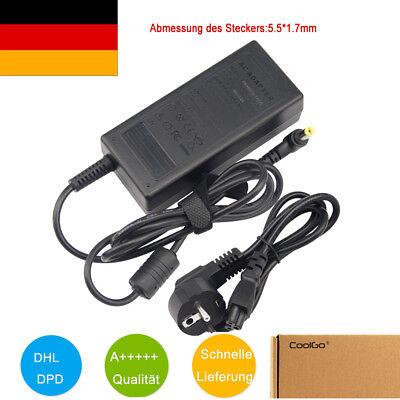 65W Laptop Netzteil Ladegerät für Acer Liteon PA-1650-22 19V 3,42A + Stromkabel