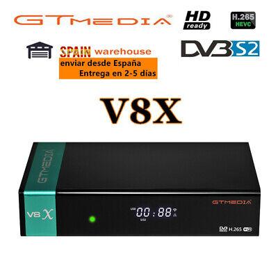 Gtmedia V8X DVB-S2/S2X/ Satellite Receiver Support H.265 Built-in WiFi HD 1080P