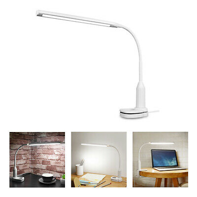 LED Desk Lamp Sensor Control Stepless Dimmable Bendable Eye Protect HOT