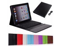 Keyboard and iPad case