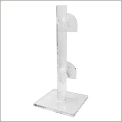 2 Tier Sunglasses Display Rack Eyewear Stand Holder Counter Top - Clear Acrylic