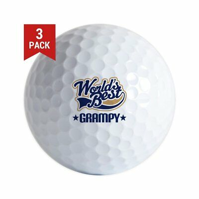 3-Ball Taylor Made Gift Pack (Worlds Best Grampy Logo) Golf