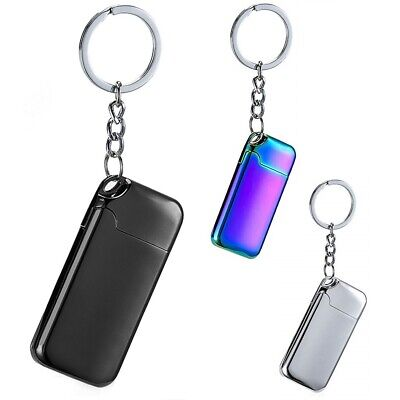 USB Electric Charge Flameless Key Chain Rechargeable Windproof Coil - Flameless Lighter
