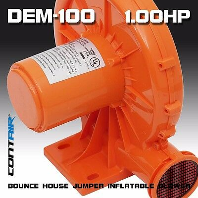 Contair� DEM-100 1HP Inflatable Bounce House Jumper Blower Fan Motor Pump Air