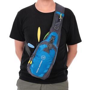 Military Travel Hiking Cross Body Shoulder Back pack Sling Chest Bag T7Z6