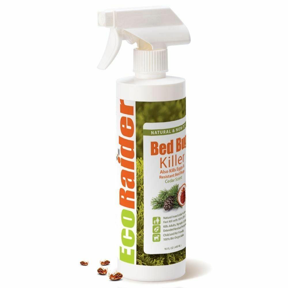 EcoRaider Cedar Scent 16 oz Natural Non-Toxic Bed Bug Killer