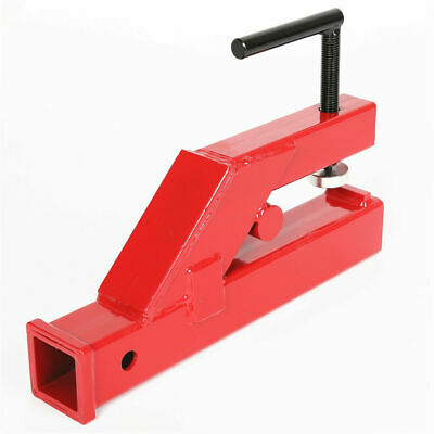 Clamp On Trailer Hitch 2 Ball Mount Receiver For Deere Bobcat Tractor Bucket