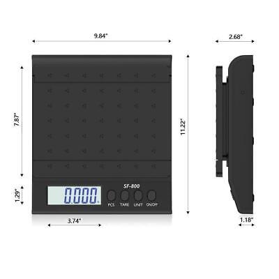 66lb X 0.1oz Digtal Shipping Scale Tabletop Postal Parcel Scales With Ac Adapter