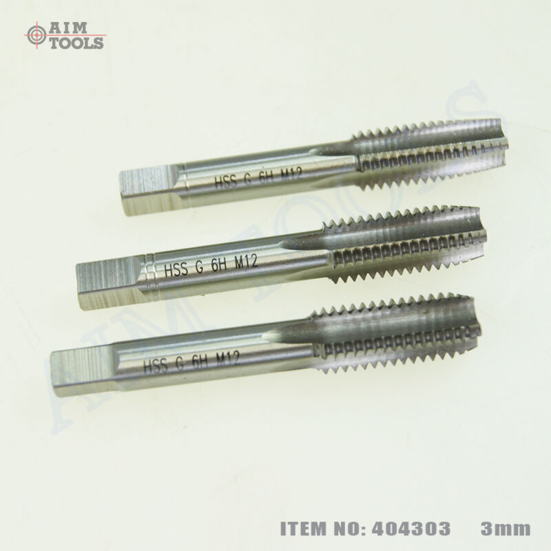 Купить 404303 3PCs HSS Metric Hand Tap Threading Set на eBay.co.uk ...
