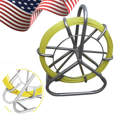 Fish Tape Fiberglass Wire Cable Rod Duct Rodder Fishtape Puller 6mm New Brand