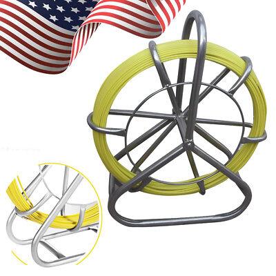 Fish Tape Fiberglass Wire Cable Rod Duct Rodder Fishtape Puller 6mm New Brand