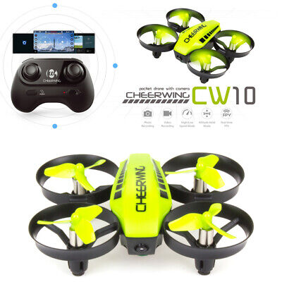 CW10 Mini Drone for Kids WiFi FPV Drone with Camera RC Quadcopter...