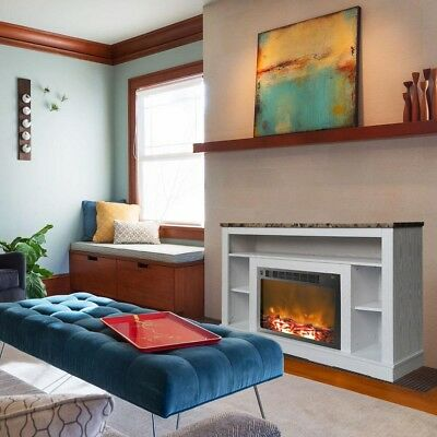 Cambridge - Seville Electric Fireplace For Most Flat-panel T