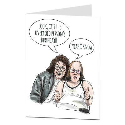 Birthday Card Funny Old Age Joke Cool Quirky Best Design Him Her Men (Best Old Age Jokes)