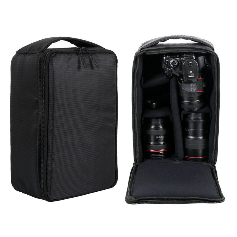 SLR//System Kameratasche Fototasche Rucksack mit Regenschutz Zubehör Universal DE