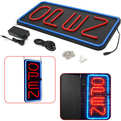 Vertical Led Neon Open Sign Led Bundle For Business Includes 2 Colors