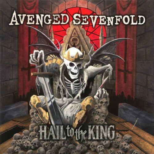 Avenged Sevenfold Hail To The King 12x12 Album Cover Replica Poster Print