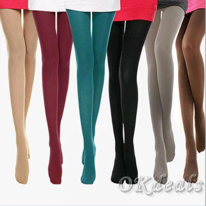 Beauty Sexy Thick 120D Stockings Pantyhose Footed Socks Tigh
