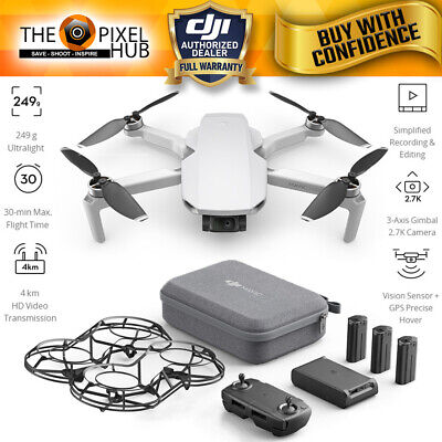 DJI Mavic Mini Fly More Combo with 12MP/2.7K Quad HD 3-Axis Gimbal Camera
