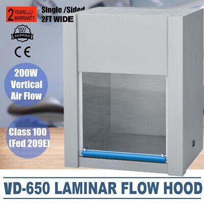 Vd-650 Ventilation Laminar Flow Hood Air Clean Bench Workstation 300lx