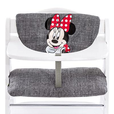Hauck Hochstuhlauflage & Sitzverkleinerer - Disney Deluxe - Minnie Mouse - Grey