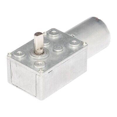 Dc 12v Gear Reduction Motor Worm Torque Turbo Geared Motor 0.6-200rpm Diy Parts